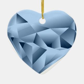 Diamant Keramik Ornament