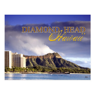 Diamant-Kopf, Honolulu, Hawaii Postkarte