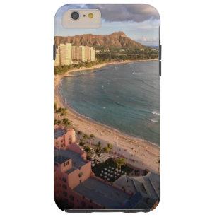 Diamant Kopf und Waikiki Tough iPhone 6 Plus Hülle