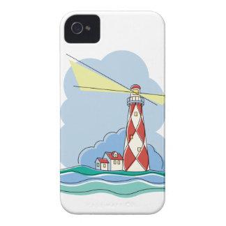 Diamant-Leuchtturm Case-Mate iPhone 4 Hülle