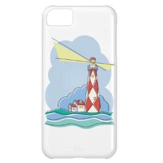 Diamant-Leuchtturm iPhone 5C Hülle