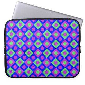 Diamant-Muster #117 Laptopschutzhülle