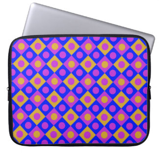 Diamant-Muster #118 Laptop Sleeve
