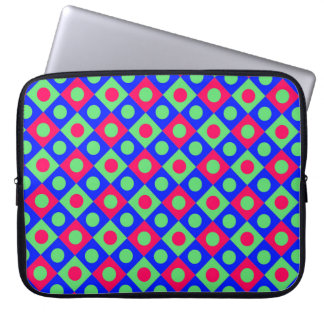 Diamant-Muster #120 Laptop Sleeve