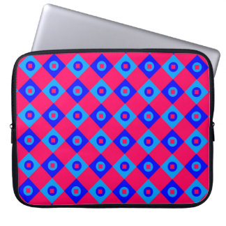 Diamant-Muster #123 Laptop Sleeve