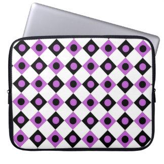 Diamant-Muster #92 Laptopschutzhülle
