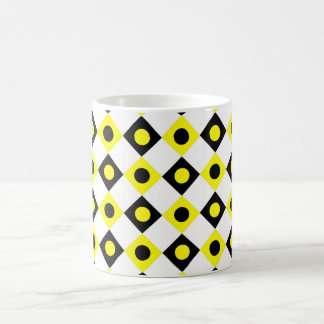 Diamant-Muster #97 Kaffeetasse
