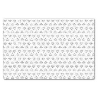 Diamant-Muster-Seidenpapier Seidenpapier