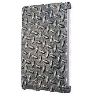 Diamant-Platten-Metallkaum dort iPad Fall iPad Hülle