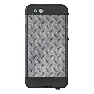 Diamant-Platten-Metallmaterial-Muster LifeProof NÜÜD iPhone 6 Hülle