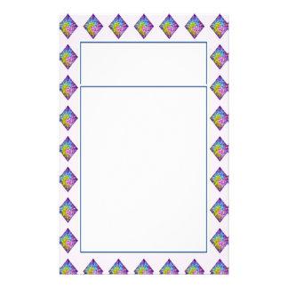 DIAMANT Schein-Muster Personalisiertes Druckpapier
