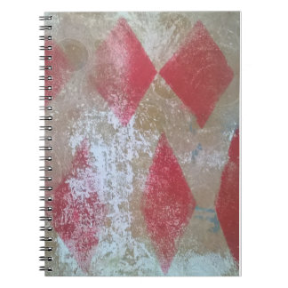 Diamant-Schmutznotizbuch Notizblock