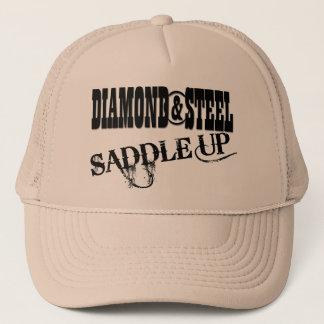 Diamant u. Stahl - Fernlastfahrer-Hut Truckerkappe