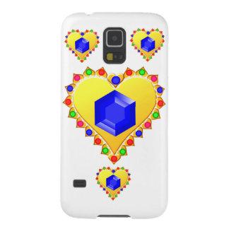 Diamant verzierter Goldanhänger Samsung S5 Hülle
