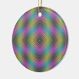 Diamant zeichnet Verzierung Keramik Ornament