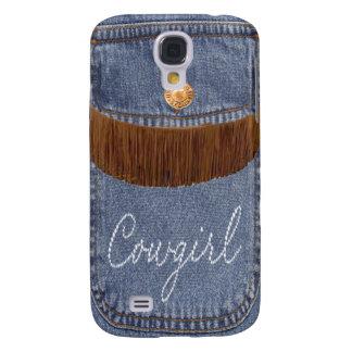 """""""Diamante de imitación-Cowgirl-u. Jeans-"""" Western Galaxy S4 Hülle"""