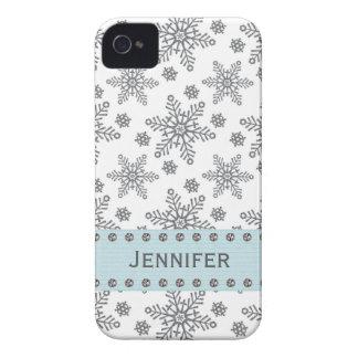 Diamante de imitación-Schneeflocke iPhone 4 iPhone 4 Hüllen