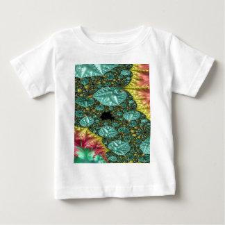 Diamanten im rauen Fraktal Baby T-shirt