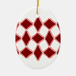 Diamanten Keramik Ornament