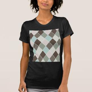 Diamantmuster T-Shirt