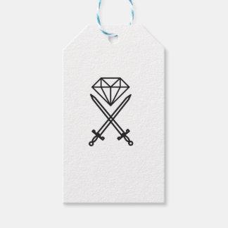 Diamantschnitt Geschenkanhänger