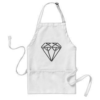 Diamond Design Schürze