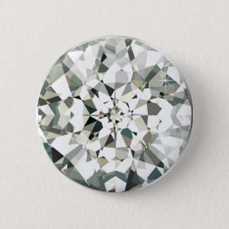 Diamond Runder Button 5,7 Cm