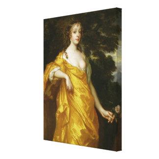 Diana Kirke neuere Gräfin von Oxford c 1665-70 Leinwand Drucke