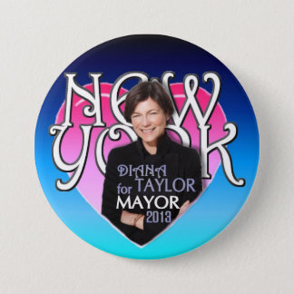 Diana Taylor für NYC Bürgermeister 2013 Runder Button 7,6 Cm