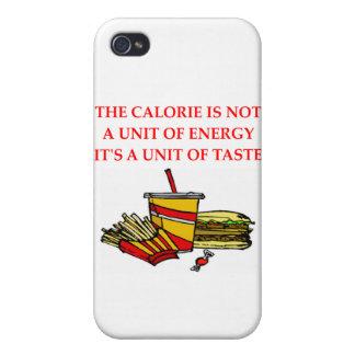 Diätkalorienwitz Etui Fürs iPhone 4