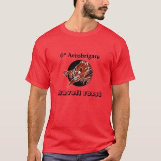 Diavoli Rossi Flecken-Shirt T-Shirt