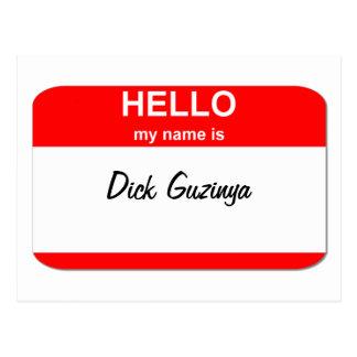 Dick Guzinya Postkarte
