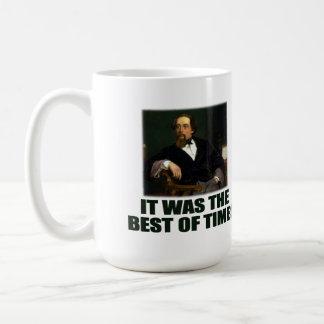 Dickens: Am besten und am schlechtesten Kaffeetasse
