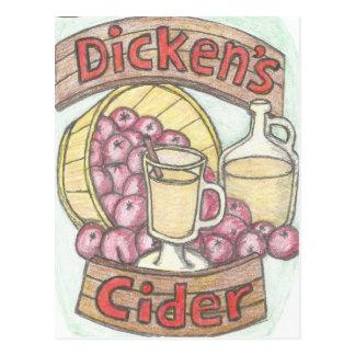 Dickens Apfelwein nichts glaubt, durchaus wie gut Postkarte