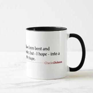 Dickens Zitate - verbogen und gebrochene Tasse