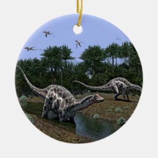Dicraeosaurus-Szene Keramik Ornament