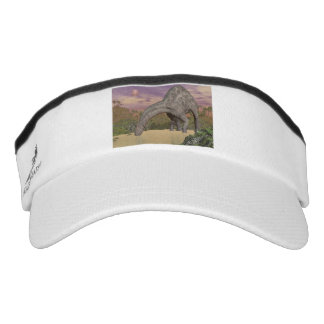 Dicraeosaurusdinosauriertrinken - 3D übertragen Visor