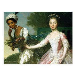 Didoelizabeth-Schönheit und Dame Murray Postkarte