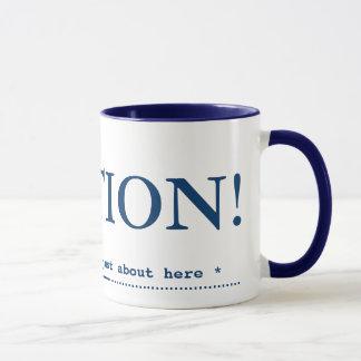 Die 10% Linie Tasse