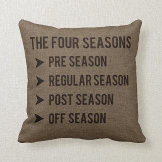 Die 4 Jahreszeiten, Vor-Jahreszeit, Regular, Kissen