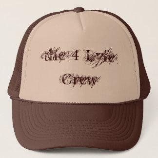 Die 4 Lyfe Crew Hut-Masche HutBrown und TAN Truckerkappe