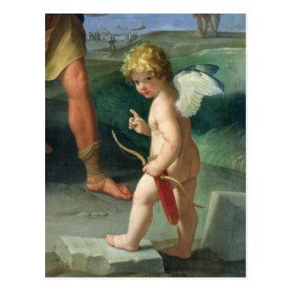 Die Abduktion von Helen, 1631 Postkarte