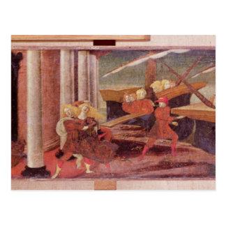 Die Abduktion von Helen, c.1470 Postkarte