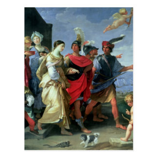 Die Abduktion von Helen, c.1626-31 Postkarte