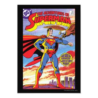 Die Abenteuer des Supermannes #424 12,7 X 17,8 Cm Einladungskarte