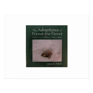 Die Abenteuer des Waldes das Frettchen Postkarte
