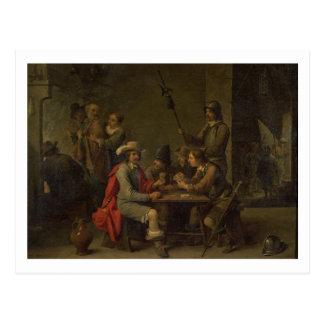 Die Ablehnung von St Peter, 1646 (Öl auf Leinwand) Postkarte