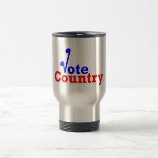 Die Abstimmungs-Land-Reise-Tasse Reisebecher