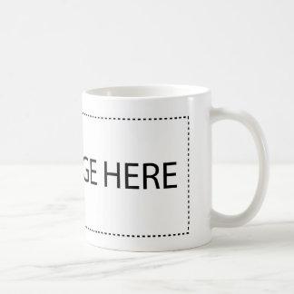 Die abstrakte Linie Kaffeetasse