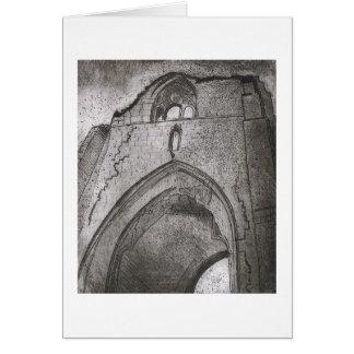 Die Abtei Karte